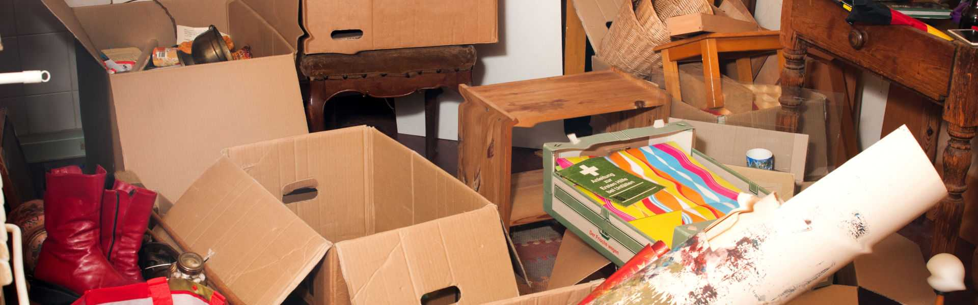 Messy boxes for clearance home